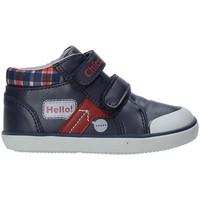 Sapatos Criança Sapatilhas de cano-alto Chicco 01062495000000 Azul