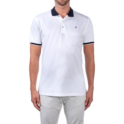 Textil Homem Polos mangas curta Navigare NV72058 Branco