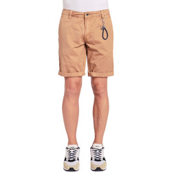 Textil Homem Shorts / Bermudas Gaudi 011BU25023WC Castanho
