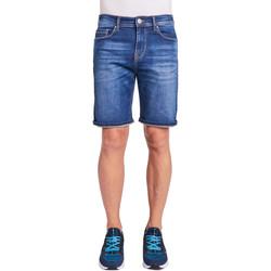 Textil Homem Shorts / Bermudas Gaudi 011BU26009 Azul