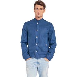 Textil Homem Casacos  Gaudi 011BU38005 Azul