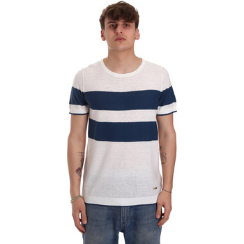 Textil Homem T-Shirt mangas curtas Gaudi 011BU53023 Bege