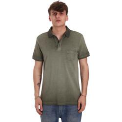 Textil Homem Polos mangas curta Gaudi 011BU64017 Verde