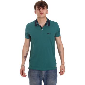 Textil Homem Polos mangas curta Gaudi 011BU64044 Verde