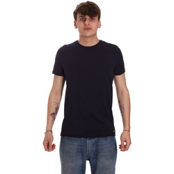 Textil Homem T-Shirt mangas curtas Gaudi 011BU64093 Azul