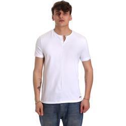 Textil Homem T-Shirt mangas curtas Gaudi 011BU64094 Branco