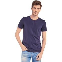 Textil Homem T-Shirt mangas curtas Gaudi 011BU64094 Azul