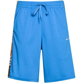 Textil Homem Shorts / Bermudas Diadora 502176087 Azul