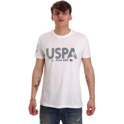 Textil Homem T-Shirt mangas curtas U.S Polo Assn. 57197 49351 Branco