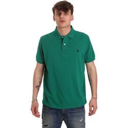 Textil Homem Polos mangas curta U.S Polo Assn. 55957 41029 Verde