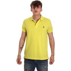 Textil Homem Polos mangas curta U.S Polo Assn. 55957 41029 Amarelo
