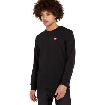 Textil Homem camisolas Wrangler W6589HA01 Preto