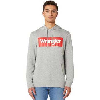 Textil Homem Sweats Wrangler W6B9HAX37 Cinzento
