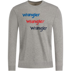 Textil Homem Sweats Wrangler W6A5HAX37 Cinzento
