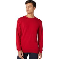 Textil Homem camisolas Wrangler W8A0PDX47 Vermelho