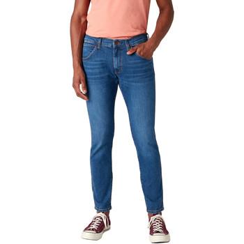 Textil Homem Calças de ganga slim Wrangler W14XT112E Azul
