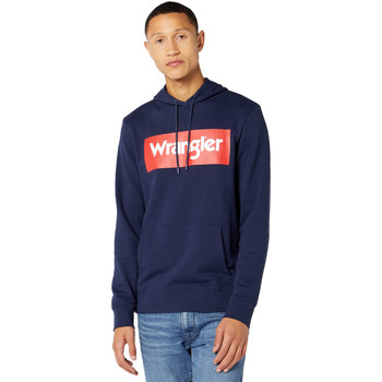 Textil Homem Sweats Wrangler W6B9HA114 Azul