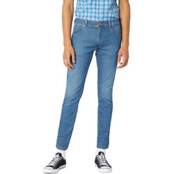 Textil Homem Calças de ganga slim Wrangler W18SQ1156 Azul