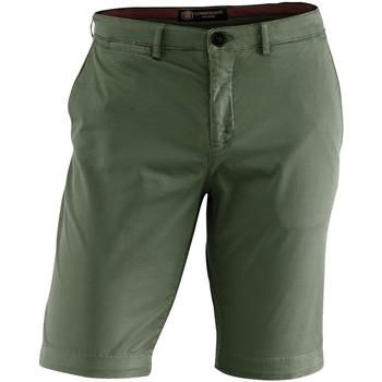 Textil Homem Shorts / Bermudas Lumberjack CM80647 002 602 Verde