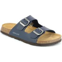 Sapatos Homem Chinelos Grunland CB3013 Azul