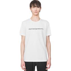 Textil Homem T-Shirt mangas curtas Antony Morato MMKS01754 FA100144 Branco