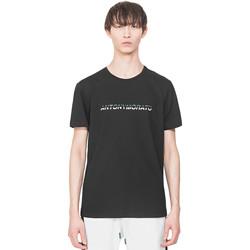 Textil Homem T-Shirt mangas curtas Antony Morato MMKS01754 FA100144 Preto