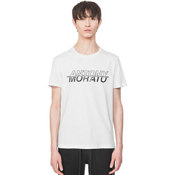 Textil Homem T-Shirt mangas curtas Antony Morato MMKS01816 FA100144 Branco