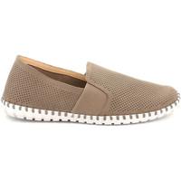 Sapatos Homem Slip on Grunland SC4918 Bege