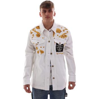 Textil Homem Casacos  Versace C1GVB92GHRC33003 Branco