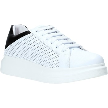 Sapatos Homem Sapatilhas Rocco Barocco N5.3 Branco