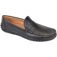 Sapatos Homem Mocassins Valleverde 11840 Preto