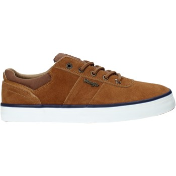 Sapatos Homem Sapatilhas Wrangler WM01004A Castanho