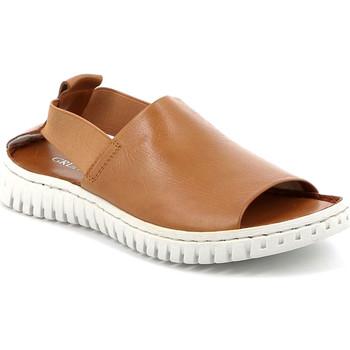 Sapatos Mulher Sandálias Grunland SA2538 Castanho