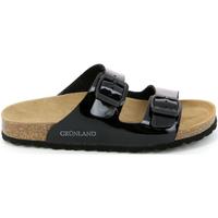 Sapatos Mulher Chinelos Grunland CB1035 Preto