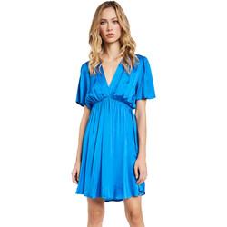 Textil Mulher Vestidos curtos Gaudi 011FD15061 Azul
