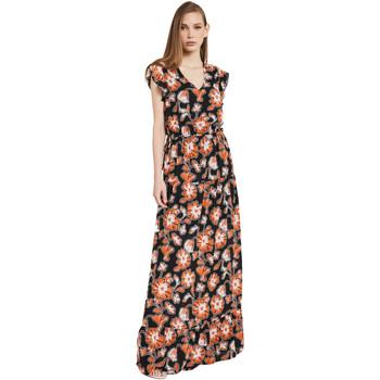 Textil Mulher Vestidos compridos Gaudi 011BD15020 Preto
