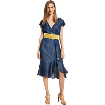 Textil Mulher Vestidos curtos Gaudi 011BD16001 Azul