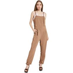 Textil Mulher Macacões/ Jardineiras Gaudi 011BD25049 Castanho