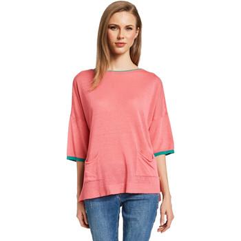 Textil Mulher camisolas Gaudi 011BD53033 Rosa