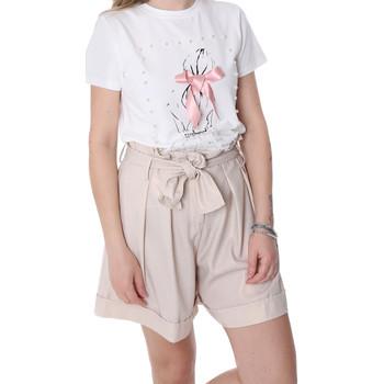 Textil Mulher Shorts / Bermudas Fracomina FR20SP150 Bege