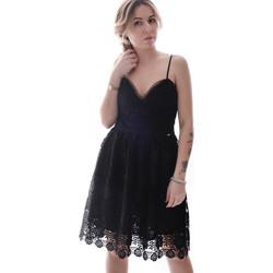 Textil Mulher Vestidos curtos Fracomina FR20SP531 Preto