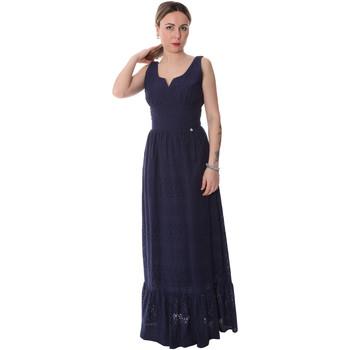 Textil Mulher Vestidos compridos Fracomina FR20SP588 Azul