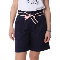 Textil Mulher Shorts / Bermudas Fracomina FR20SP606 Azul