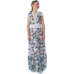 Textil Mulher Vestidos compridos Fracomina FR20SP432 Azul