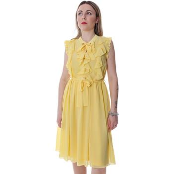 Textil Mulher Vestidos curtos Fracomina FR20SP536 Amarelo