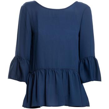 Textil Mulher Tops / Blusas Fracomina FR20SP040 Azul