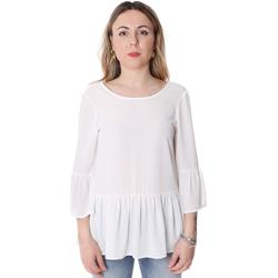 Textil Mulher Tops / Blusas Fracomina FR20SP040 Branco