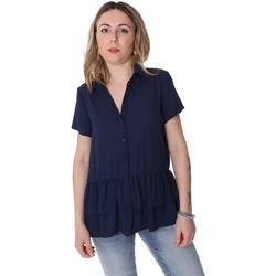 Textil Mulher camisas Fracomina FR20SP039 Azul