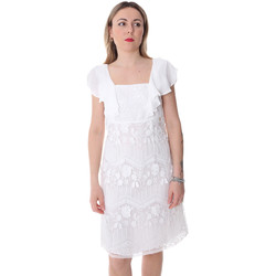 Textil Mulher Vestidos curtos Fracomina FR20SP584 Branco