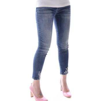 Textil Mulher Calças de ganga slim Fracomina FR20SPJBETTY Azul